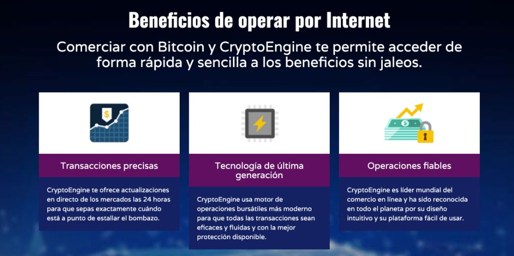 Crypto Engine Ventajas