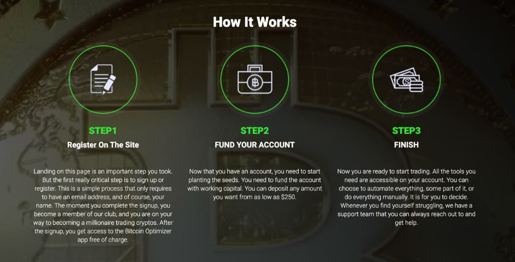 Bitcoin Benefit how to get started