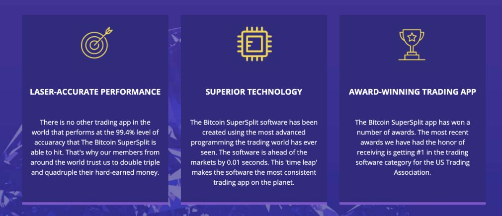 Advantages of trading with Bitcoin Supersplit